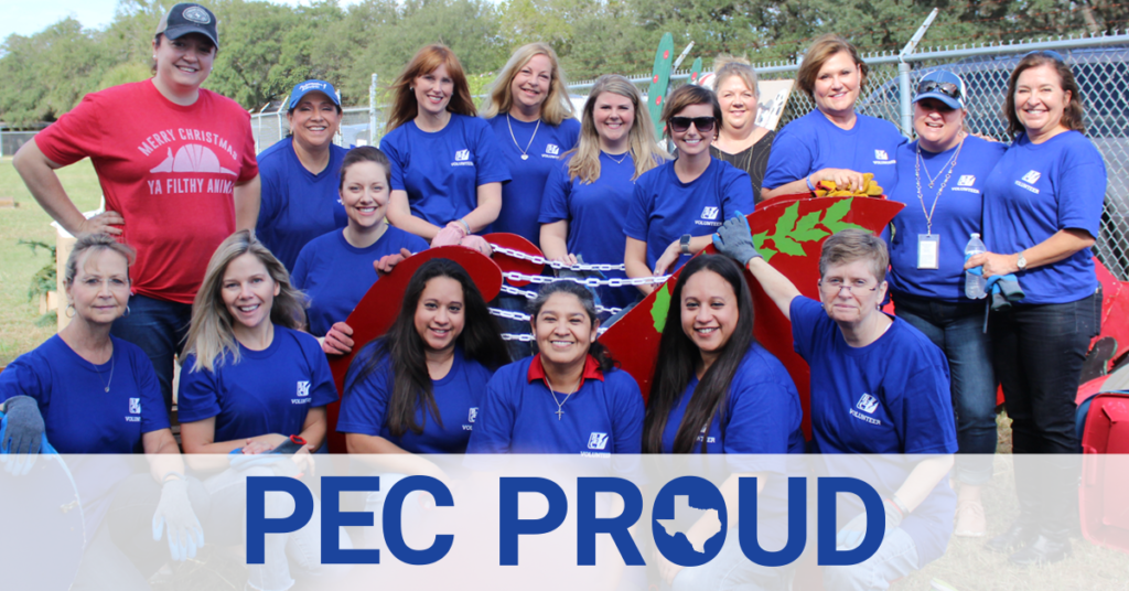 PEC volunteers